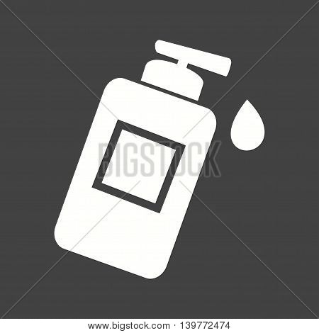 Lotion, bottle, skin icon vector image. Can also be used for spa. Suitable for web apps, mobile apps and print media.