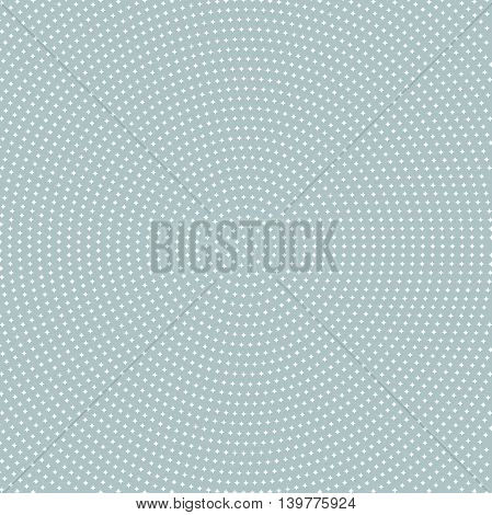 Seamless geometric vector pattern. Modern ornament with white stars