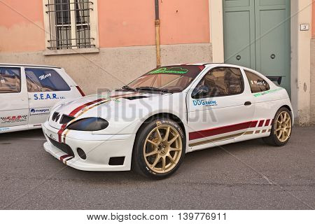 BRISIGHELLA RA ITALY - JULY 17: racing car Renault Megane exposed during the meeting
