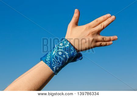 Hand With Vulcan Salute