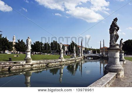 Weergave van Padua