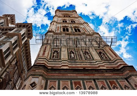 Bell-tower of the Cathedral of Florence