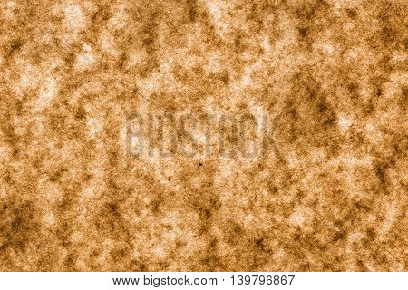 close up background and texture of brown paper