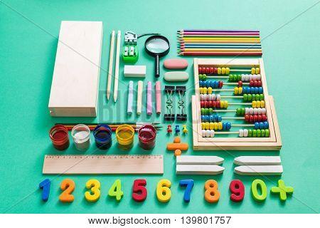 Colorful Back To School Arrangement