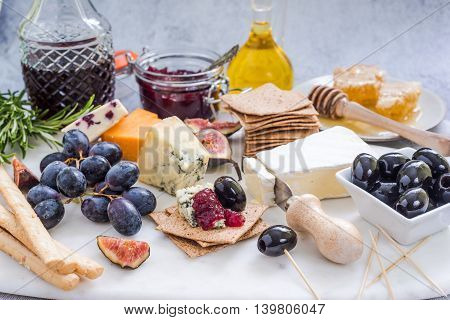 Cheese Assorted On Board