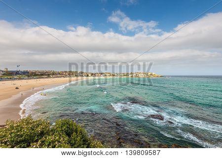 Bondi Beach in Sydney New South Wales Australia