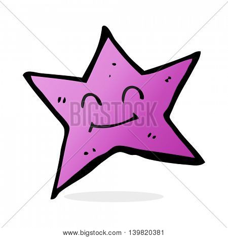 cartoon star character