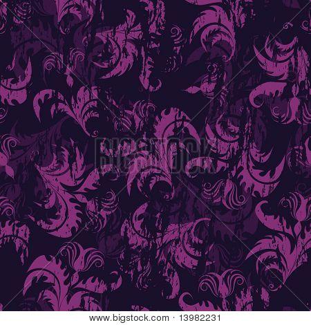 Floral fundo perfeito para o seu uso de design. Para fácil fazer sem costura padrão apenas arraste todos grou