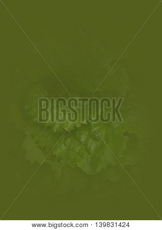 Abstract green background. Abstract mosaic image of lettuce.