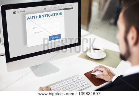 Authentication Permission Accessible Security Concept