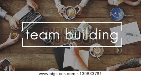 Team Building Business Employee Group Concept