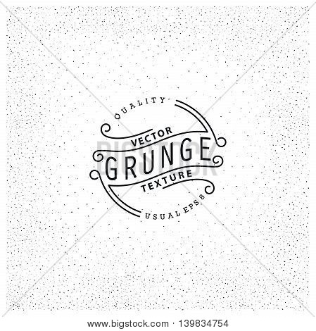 Grunge texture. Simple pattern of spots. Vector illustration. Ready for print web and other design