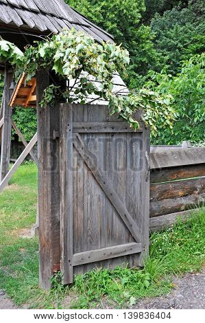 Vintage Rural Gate