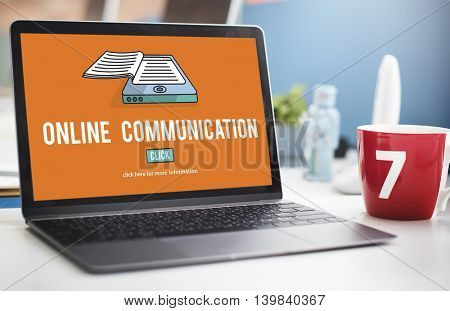 Online Communication Connection Information Concept