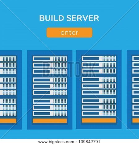 Network internet database build server eps 10
