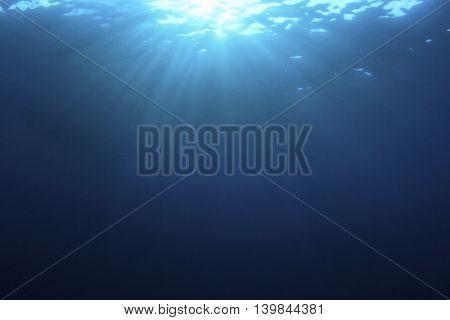 Underwater background photo