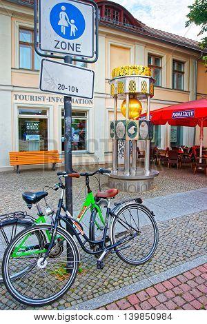 Brandenburger Strasse As Pedestrian Zone In Potsdam