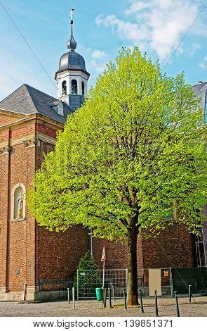 Josephskapelle Chapel In The City Center In Dusseldorf In Germany