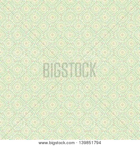 Beautiful vintage background of seamless floral pattern