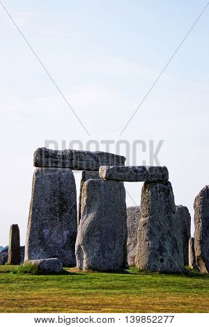 Stonehenge Of Wiltshire In Great Britain
