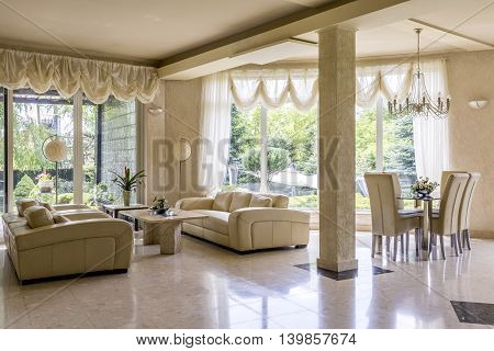 Splendid Lounge Room Fit For A Princess