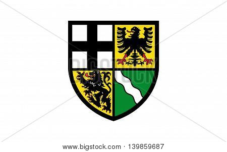 Flag of Ahrweiler is a district in the north of Rhineland-Palatinate Germany