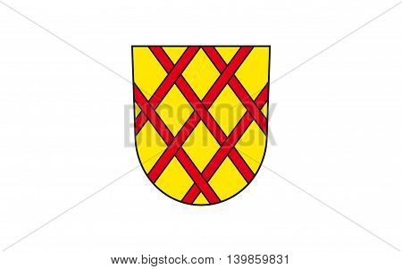 Flag of Daun is a town in the Vulkaneifel district in Rhineland-Palatinate Germany