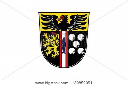 Flag of Kaiserslautern is a district (Kreis) in the south of Rhineland-Palatinate Germany