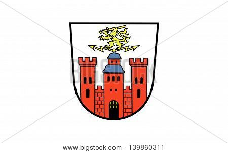 Flag of Pirmasens is an independent town in Rhineland-Palatinate Germany