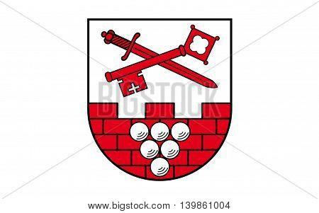 Flag of Burgenlandkreis is a district in Saxony-Anhalt Germany