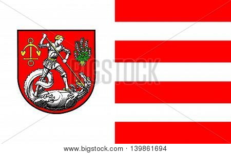 Flag of Heide is a town in Schleswig-Holstein Germany