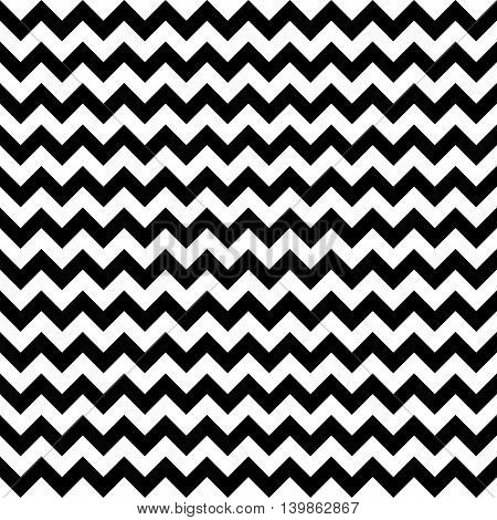 Abstract Zig Zag Seamless Pattern