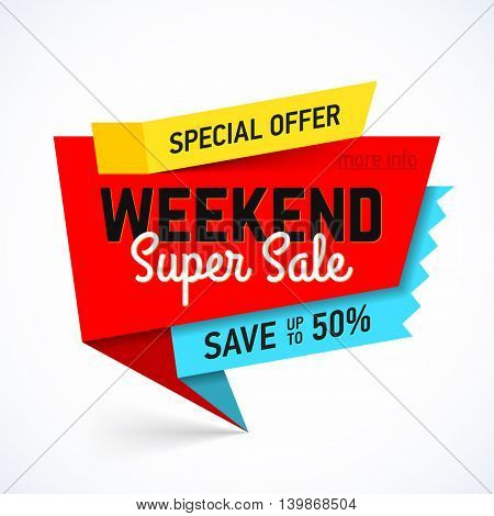 Weekend Super Sale banner