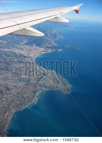 French Riviera From The Sky