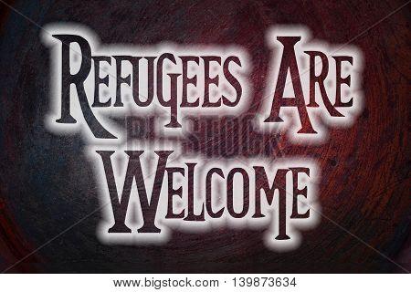 Migration Concept text on background human idea