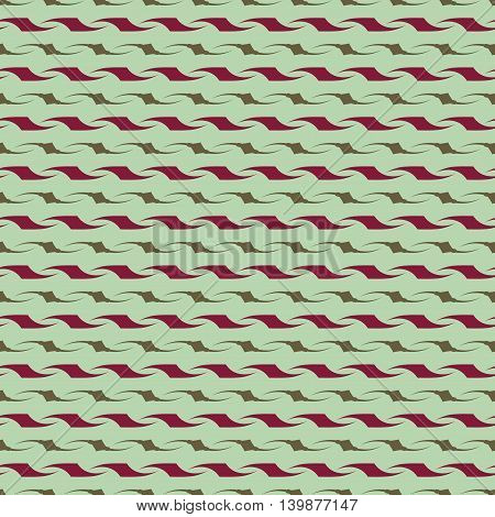 Wavy line seamless pattern. Fashion graphic background design. Modern stylish abstract texture. Colorful template for prints textiles wrapping wallpaper website etc. VECTOR illustration