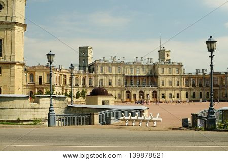 26.06.2016.Russia.Historical Palace in Gatchina was built for count Orlov.