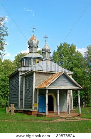 Antique Wooden Chapel
