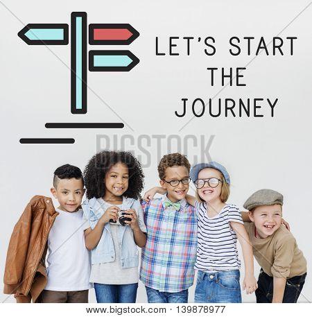 Children Start The Journey