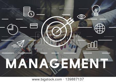 Management Organization Coordination Target Concept