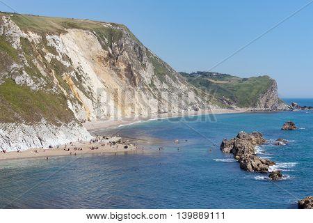 Man O' War beach on the UK's Jurassic coast, Dorset
