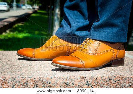 Man In Brown Boots