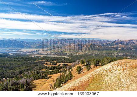 Dramatic Mountainous Landscape