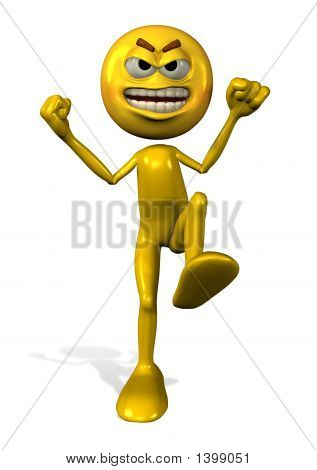 Angry Emotiperson Stock Photo & Stock Images | Bigstock