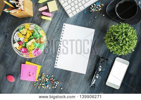 Creative Messy Desktop