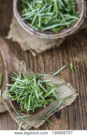 Some Fresh Rosemary (close-up Shot)