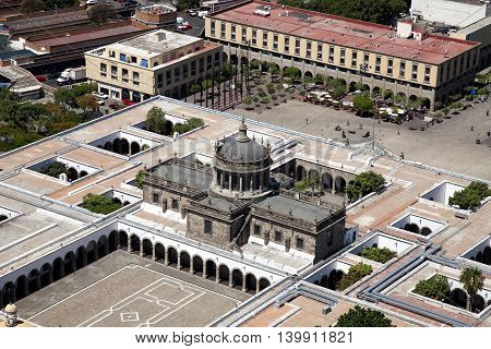 A beautiful Historical building Guadalajara Jalisco Mexico