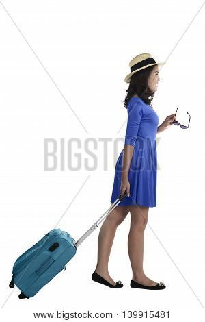 Young Asian Female Tourist