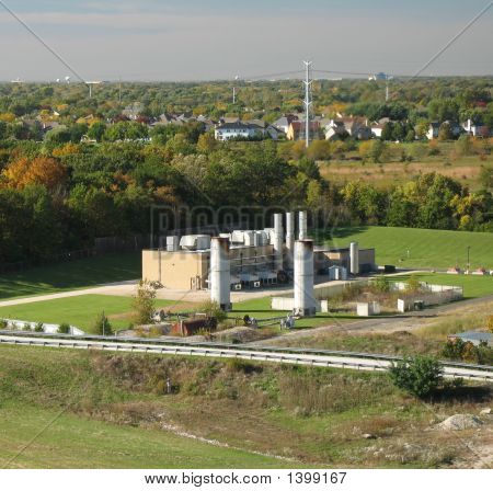 Incenerator Plant
