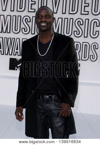 Akon at the 2010 MTV Video Music Awards held at the Nokia Theatre L.A. Live in Los Angeles, USA on September 12, 2010.